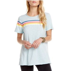 Chaser Lightning Retro-Stripe Tee